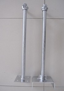 Glavanized Scaffolding Base Jack / U Head Jack Low Price