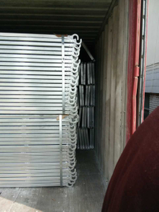480mm Wide Galvanized Steel Plank for Frame Scaffolding