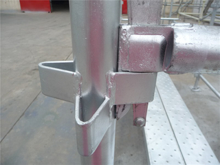 Hot DIP Galvanized Kwikstage Scaffolding Standard for Sale