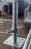 "24"" Scaffolding Screw Jack with Fixed Base Plate"