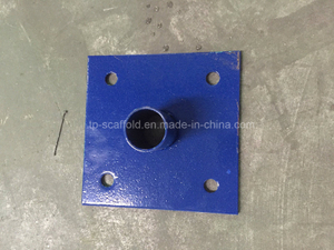 Powder Coated Base Plate for Frame Scaffolding System Scaffold