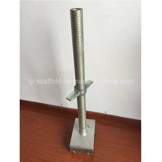 Adjustable U Head Screw Jack Base for Scaffolding Construction