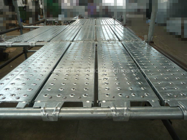 Different Type Scaffolding Steel Plank Board Deck
