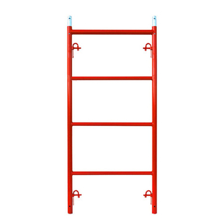 Narrow Scaffolding Frame with Candy cane locks