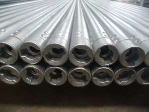 Twist Lock Tube with HDP for Scaffolding System