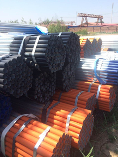 Scaffold Tube with Galvanized and Painted Surface Finish