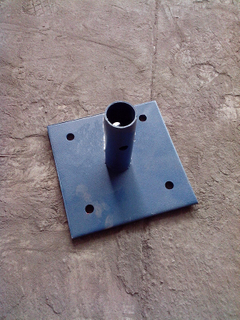 OEM Frame Scaffolding Base Plate Scaffold Base Plate for Construction
