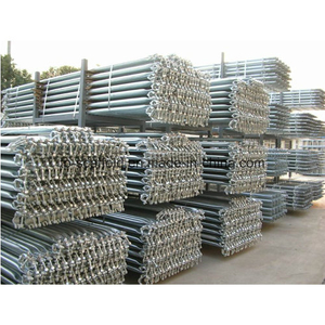 HDG Scaffold Steel Diagonal Brace for Cuplock Scaffolding