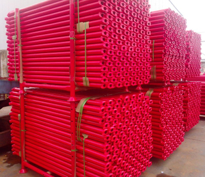 Cuplock Scaffolding Ledger / Horizontal Red Painted Manunfactured High Quality