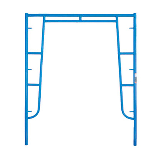 "0.095"" Drop lock S- Style Scaffolding Walk Thru Frame"